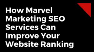 Marvel Marketing SEO Services