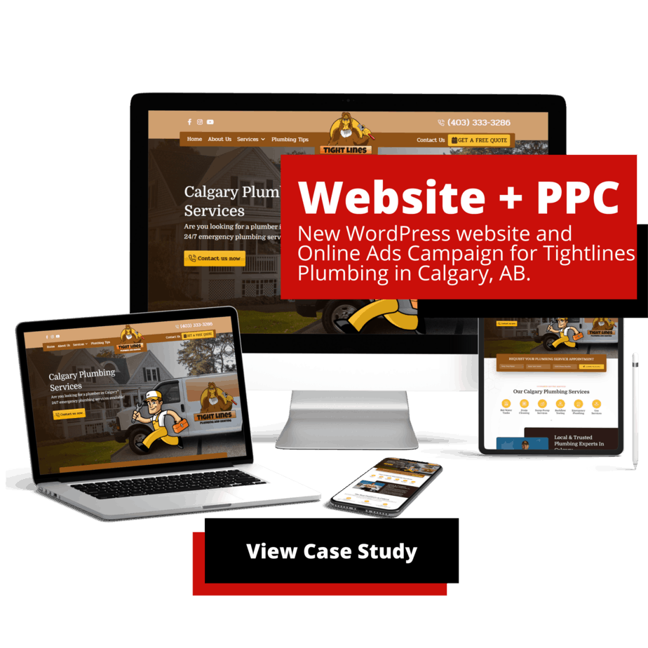 Marvel Marketing - Calgary Digital Marketing Agency Website-and-PPC-for-Tight-Lines-Plumbing-Marvel-Marketing-Digital-Marketing-Services Home