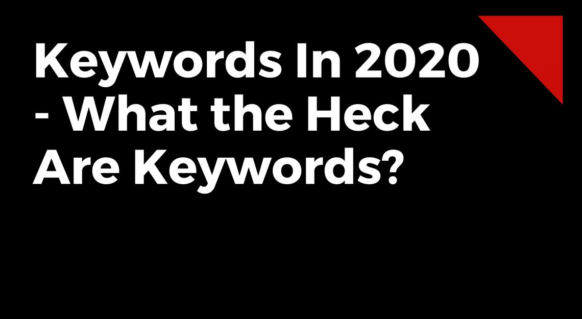 Keywords in 2021