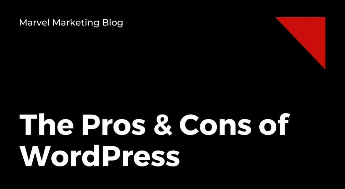 The Pros & Cons of WordPress